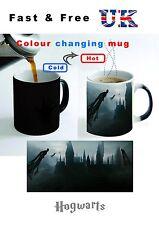 HARRY POTTER HOGWARTS SCHOOL WITCH DARK Castle Gift Coffee Mug Color Changing