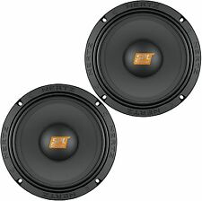 "HERTZ SV-165.1 CAR AUDIO 6.5"" SPL SERIES COMPONENT MIDRANGE SPEAKERS DRIVER PAIR"