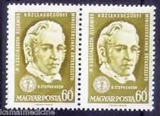 G. Stephenson, Constructed 1st public railway, Inventor Hungary 1961 MNH