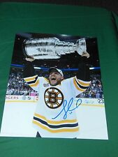 Boston Bruins Gregory Campbell Autographed 8x10 Stanley Cup Photo
