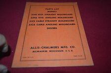 Allis Chalmers 212HS 21HA 21CS 21CA Dozer Dealer's Parts Book DCPA6