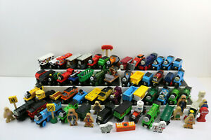 Thomas the Train & Friends -- Wooden Railway HUGE Lot of 70+ Engines,Cars,Access