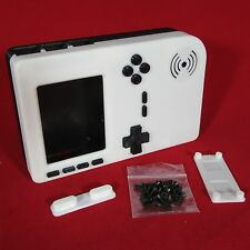 PiGRRL 2 White & Black Game Boy Case with Buttons & Screws for Raspberry Pi 2/3