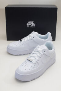 🔥VARIOUS SIZES! Women's Nike Air Force 1 Sage Low White/White (AR5339-100)