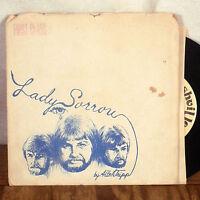 "RARE FOLK PSYCH Allen Tripp Lady Sorrow 7"" 45 Single PRIVATE PRESS w/ mailer M-"