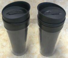 2 Stück Thermobecher ca. 380ml Kaffeebecher Isolierbecher Trinkbecher mit Pfiff