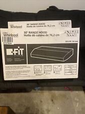 Whirlpool Range Hood Uxt42ads2 stainless steel duct free vented serial # xh85196