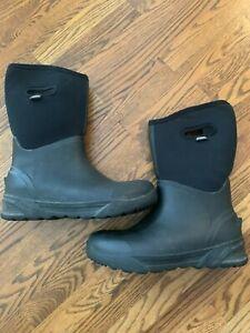 Bogs Men's Bozeman Tall Waterproof Warm Insulated Winter Work Rain and Snow Boot