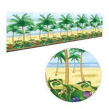 40ft Hawaiian Luau Palm Tree Giant Room Scene Setter Paradise Wall Decoration BN