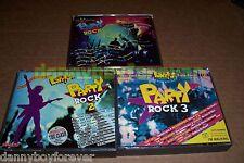 Party Rock Sony CBS 6 CD Lot Queen Prince T.Rex Genesis Alice Cooper Scorpions