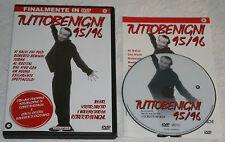 TuttoBenigni 95/96 - Roberto Benigni (DVD; 1996) *VENDITA*/*BUONO*.