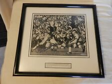 Paul Hornung #5 Green Bay Packers Signed Photograph Framed & Matted UDA