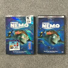 Disney Pixar Finding Nemo Dvd 2-Disc Collector's Edition New Sealed Slip Cover