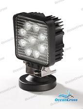 LED-Scheinwerfer 9 x 3 Watt LEDs 12-24 V eckig magnetisch Arbeitsleuchte Auto