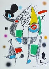 Joan Miro Maravillas acrosticas 20 signed limited to 1500 LITHOGRAPH 1975