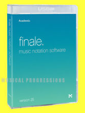 Finale 25 - Music Notation Software New Sealed Package - Low Edu Price MakeMusic