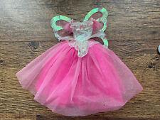 Vintage Barbie Pink Butterfly Dress
