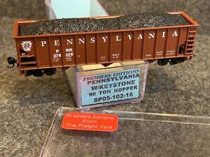 N Scale Premiere Editions Pennsylvania 90' Ton Hopper PRR 276458 SP05-102-16