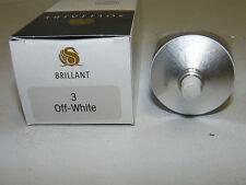 SOLITAIRE BRILLANT OFF-WHITE CREME LEDER PFLEGE SCHUHCREME 75ml LÖSUNGMITTELFREI
