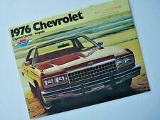 Brochure Chevrolet Caprice Classic / Impala  1976 (USA) !
