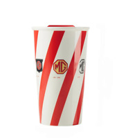 MG Official Merchandise Ceramic Travel/Coffee Mug with sliding lid