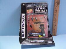Micro Machines Star Wars Action Fleet Rebel Alliance Battle Pack #1 Galoob 1995