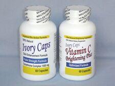 IVORY CAPS PILLS GLUTATHIONE & VITAMIN C SKIN WHITENING (AUTHORIZED DISTRIBUTOR)