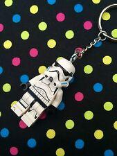 Star Wars Stormtrooper Keychain / Keyring... Handmade using LEGO® parts