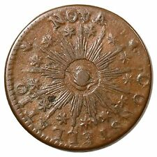 1783 C 1-A R4 Pointed Rays, Large Us Nova Constellatio Colonial Copper Coin