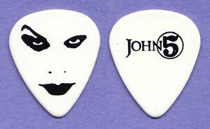 Rob Zombie John 5 Signature Face White Guitar Pick - 2010 Tour