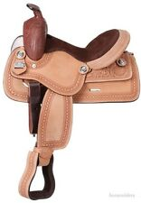 10 Inch Western Saddle - Children's - Roughout Trail Saddle