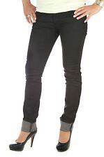 Diesel Livy 0064U Jeans donna, donna 27/32 Getlegg Livier Matic nero slim
