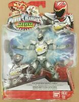 Power Rangers Dino Super Charge Drive Graphite Ranger 5 Inch 12 cm Action Figure