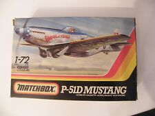 Matchbox 1-72 P-51D Mustang maquette en boite