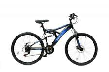 "Basis 1 Full Suspension Mountain MTB Mens Bike 26"" Wheel Disc Brake 21Sp Blue"