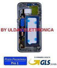 MIDDLE FRAME SCOCCA CORNICE TELAIO CENTRALE PER SAMSUNG GALAXY S7 G930F NERO