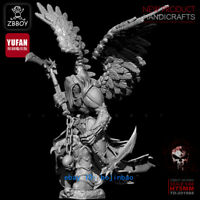 1/24 Scale 75mm Death God Unpainted Model Kits Resin Figure YuFan Model Statue