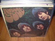 BEATLES rubber soul ( rock ) capitol mono colorband