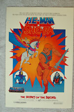 He Man and She Ra Lobby Card Movie Poster The Secret of the Sword