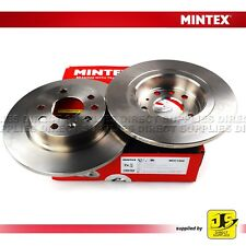 2X MINTEX REAR BRAKE DISCS MDC1560 FOR CHEVROLET FIAT HOLDEN SAAB 9-3 X VAUXHALL