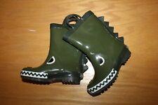 NWT Gymboree Baseball Champ size 10 Green Gator Rain Boots