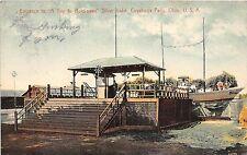 B4/ Cuyahoga Falls Silver Lake Ohio Postcard 1908 Sea-On-Land Rockaway Ride 2