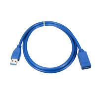 USB 3.0 A Male Plug to Female Super Speed Extension Cable For PC 0.5,1,1.5,2M FF