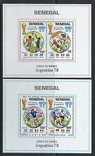 """Sénégal Bloc N° 15/16** (MNH) 1978 - """"Argentina 78"""""""