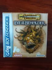 DUNGEONS & DRAGONS - EYE OF THE BEHOLDER - NINTENDO GAME BOY ADVANCE - GBA - PAL