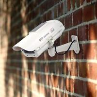 Dummy Security Camera - Solar Powered -  Effective CCTV Security Deterrent