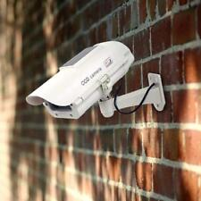Dummy Security Camera - Solar Powered -  Effective CCTV Security Deterrent