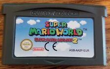 Super Mario World: Super Mario Advance 2 Game Boy Advance GBA