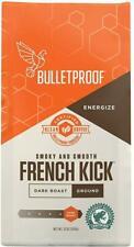 French Kick Dark Roast Ground Coffee, BulletProof, 12 oz 6 pack