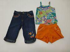 Gymboree Childrens Place Girls Size 24M 2T Tank Capri & Shorts Lot